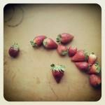 la confiture de fraises minute