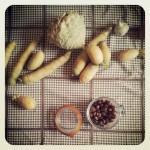Soupe blanche d'automne aux noisettes