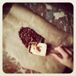 mikado de chocolat noir et sarrasin grillé
