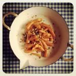 carottes, miel, amandes et noisettes