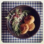 Burgers de légumes aux patates douces