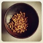 Pois chiches croustillants au parmesan, cumin et paprika