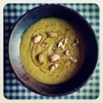 Soupe de butternut et châtaignes