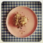Crumble de pommes et flocons d'épeautre (sans gluten ou si peu)