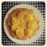 Gâteau de polenta et amandes aux agrumes