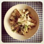 Courgettes rôties au parmesan et aux herbes