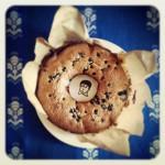 Gâteau aux myrtilles, zestes de citron et pavot