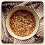 Beans sauce tomate à ma façon