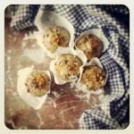 Muffins aux mandarines et pistaches