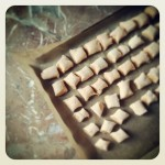 Gnocchis de patates douces et romarin